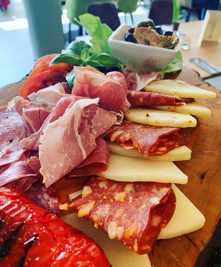 Schinken, Salami, Käse - La Toscana Restaurant Heilbronn