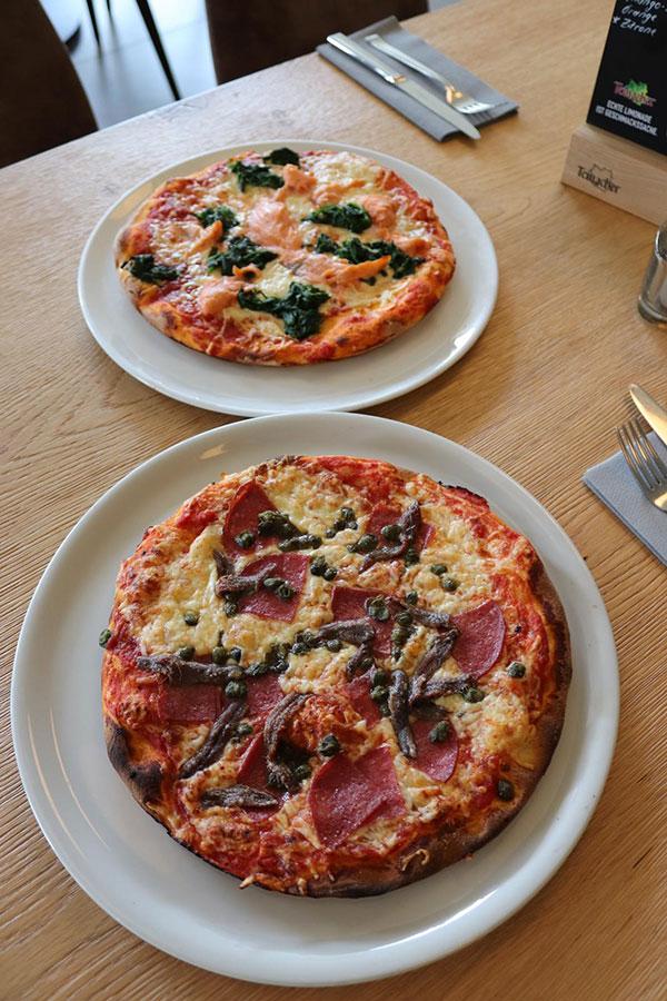 Pizza - La Toscana Restaurant Heilbronn